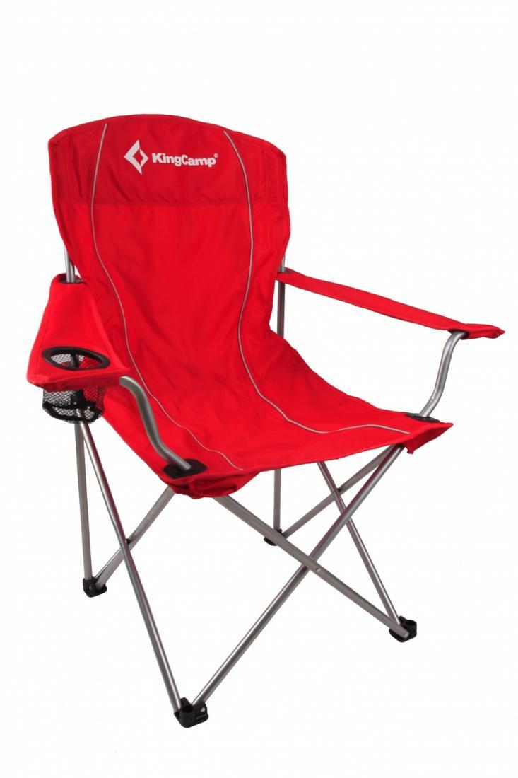 Кресло King Camp  3818 скл.сталь Arms ChairКемпинговая мебель<br><br><br>Цвет: Красный<br>Размер: None
