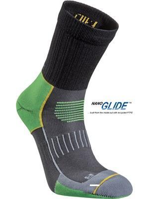 Носки Running Mid TrailНоски<br><br>Состав: 78% полиамид, 20% Nano Glide, 2% Lycra®<br>Размерный ряд: 34-36, 37-39, 40-42, 43-45, 46-48<br><br><br>Цвет: Зеленый<br>Размер: 43-45