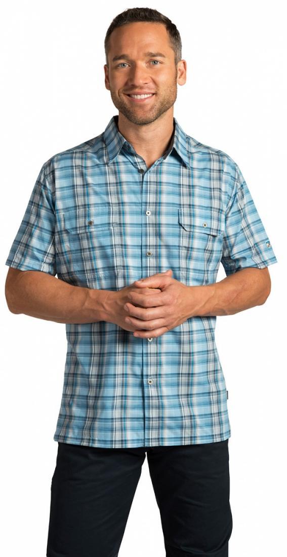 Рубашка Response муж.Рубашки<br><br><br> Мужская рубашка Kuhl Response с коротким рукавом и отложным воротником – это отличный вариант для летнего от...<br><br>Цвет: Голубой<br>Размер: S