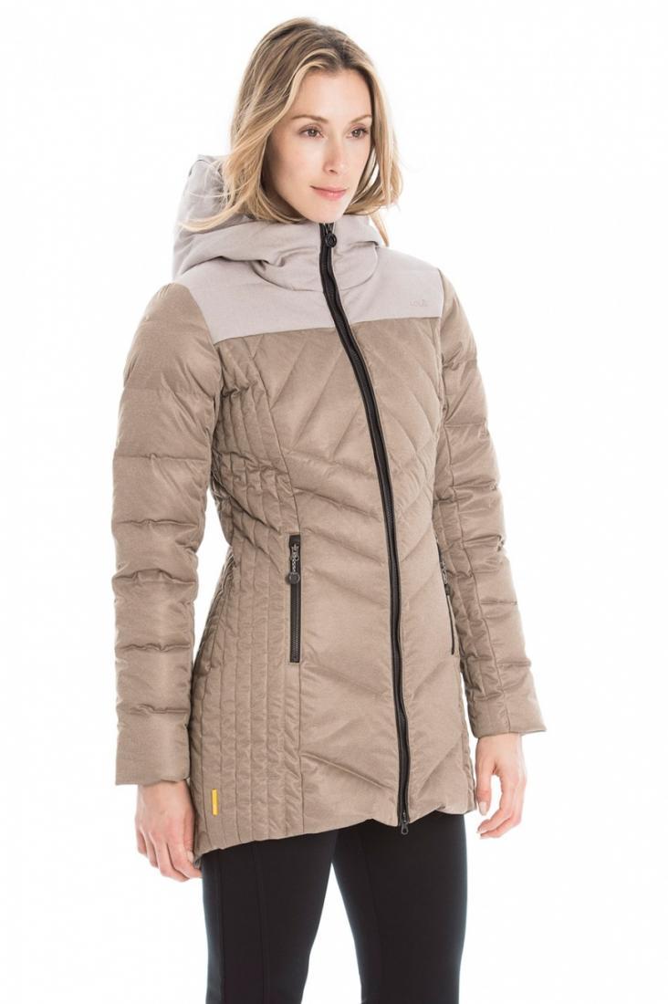 Куртка LUW0315 FAITH JACKETКуртки<br><br> Выбирайте изящное пуховое полупальто Faith для динамичных городских будней или комфортного отдыха на природе!<br><br><br><br>Контрастный цветовой дизайн создает эффектный и модный образ. <br><br>Стеганный дизайн и приталенный силуэт мо...<br><br>Цвет: Бежевый<br>Размер: S