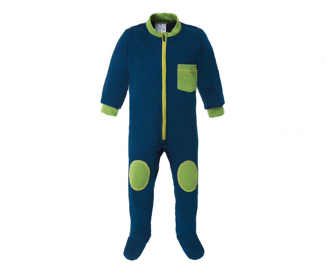 Термобелье комбинезон Little Wool II ДетскийКомбинезоны<br>Теплый комбинезон из мериносовой шерсти прекрасно согревает во время прогулок в холодную погоду. Его можно использовать в качестве базово...<br><br>Цвет: Темно-синий<br>Размер: 74