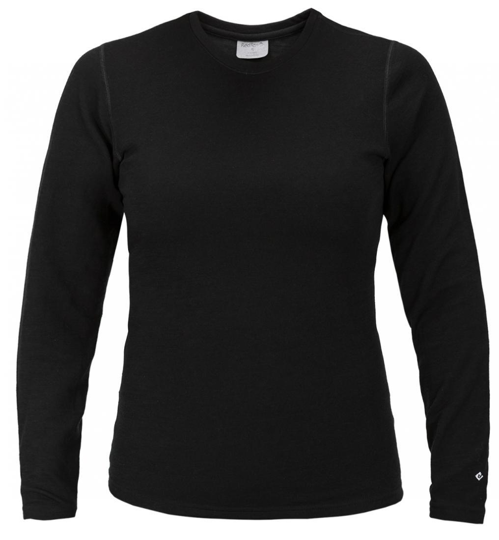 Термобелье футболка с длинным рукавом Merino Daily ЖенскийФутболки<br>&lt;p&lt;Теплый женский пуловер выполнен из тончайшей мериносовой шерсти c толщиной волокон 17,5 микрон; приятен к телу, естественным образом отводит влагу и сохраняет тепло; благодаря особой структуре волокон ткани,обладает антимикробными свойствами и нейтрал...<br><br>Цвет: Черный<br>Размер: XL