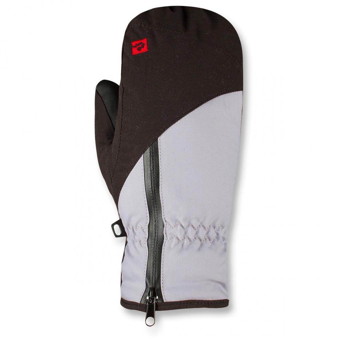 Рукавицы утепленные Traverse II ПодростковыеВарежки<br><br> Прогулочные утепленные рукавицы с ярким дизайном.<br><br><br><br><br><br>Материал – 50% Polyester, 50% Nylon, 156 g/sqm.<br>Усиление – 80% Polyvinyl Chloride, 20% Polyester, 690 g/sqm.<br>Утеплитель – Omnitherm® Classic...<br><br>Цвет: Серый<br>Размер: M