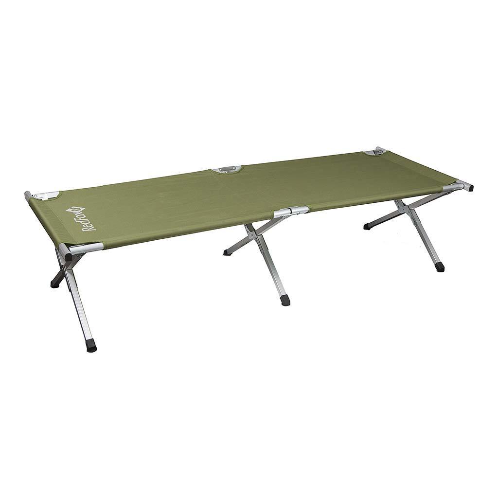 Раскладушка RedfoxКемпинговая мебель<br><br>Назначение: Альпинизм, активный отдых<br>Материал: 75D Poly Diamond Emb / 75D Poly<br>Вес: 5,340 кг<br><br> <br><br>Цвет: Зеленый<br>Размер: None