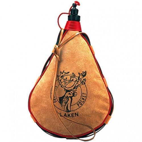PK1500-R Фляга кожа капля screw capПосуда<br><br> Если вы часто отправляетесь в походы, на велосипедные прогулки или рыбалку, попробуйте взять с собой кожаную флягу PK1500-R от проверенного испанского производителя Laken. Мягкий бурдюк на 1,5 л отличается хорошей вместимостью, долго служит, легко ...<br><br>Цвет: Коричневый<br>Размер: 1.5 л