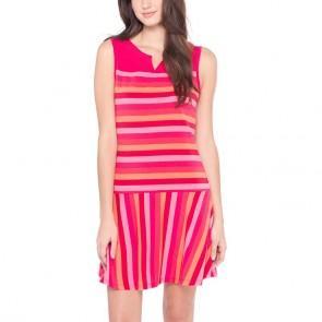 Lole Платье LSW1271 ARLETA DRESS (L, CHILLIES MULTI STRIPE, ,) lole шорты lsw0898 lively short l evening blue