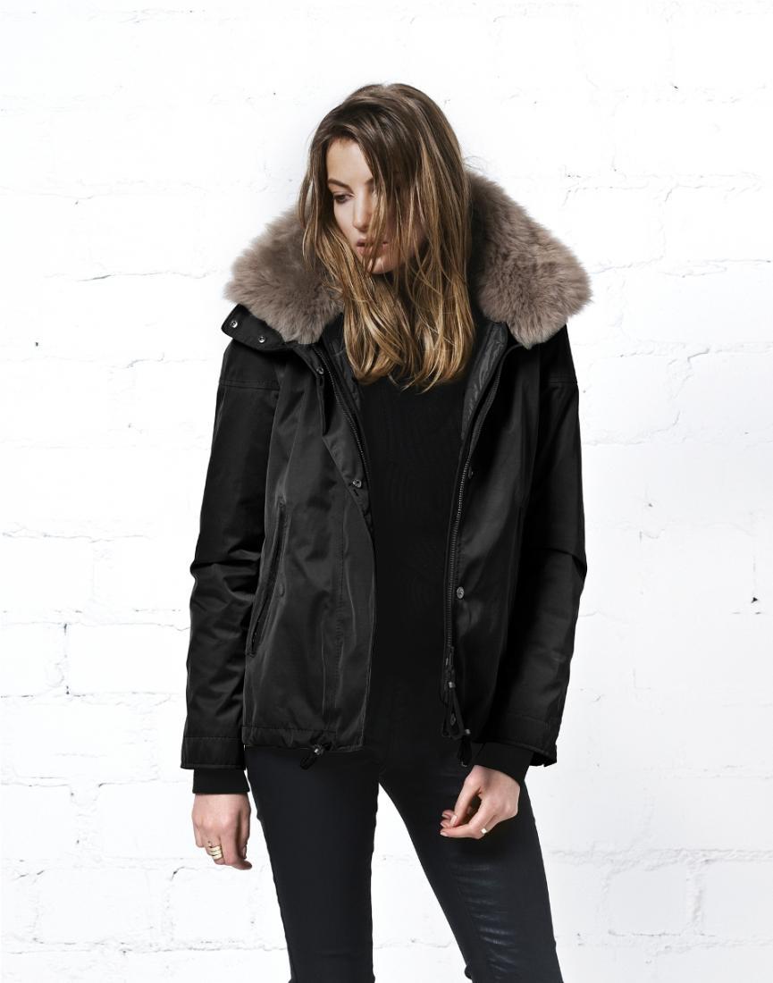фото Куртка утепленная жен.Bellevue c мехом