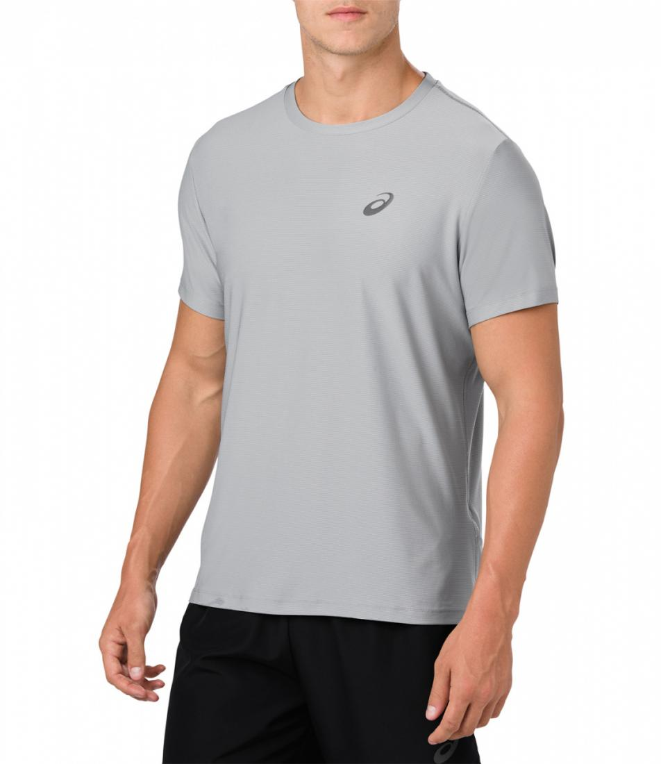 Asics Футболка SS TOP (S, 0795, , , SS18) asics леггинсы 7 8 tight s 1263 ss18 page 1