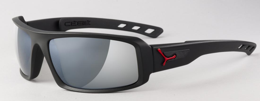 Очки Cebe  SSENTIALОчки<br>Спортивные солнцезащитные очки<br><br><br>  <br><br><br>Особенности:<br><br><br>  <br>    Широкий обзор<br>  <br>    Дужки с технологией пят...<br><br>Цвет: Красный<br>Размер: None