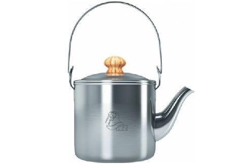 Чайник NZ SK-032 костровойКастрюли<br><br><br>Цвет: Серый<br>Размер: 1