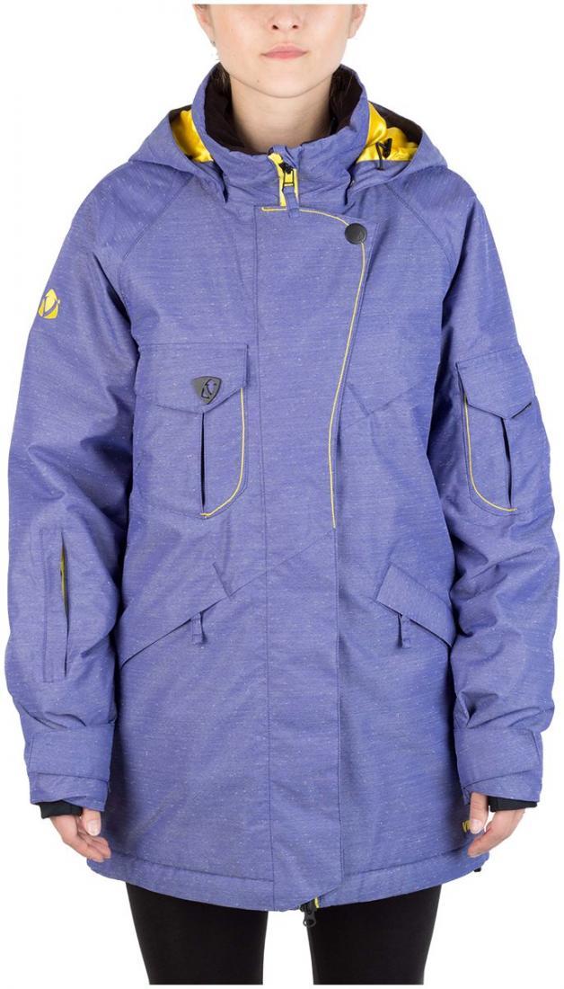 Куртка Virus  утепленная Batty жен.Куртки<br><br>Универсальная женская куртка. Интересный крой. Четыре кармана спереди, два из которых на рукавах. Защитная планка на кнопке. В этом сезоне модель выполнена в ткани розового, синего, и бирюзового цвета с наличием вентиляции.<br><br><br>Мембран...<br><br>Цвет: Синий<br>Размер: 44