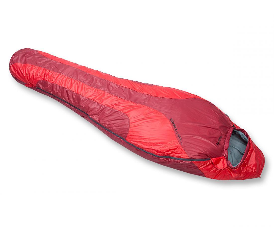 Спальный мешок Super X-Light leftСпальные мешки<br><br><br>Цвет: Бордовый<br>Размер: Regular