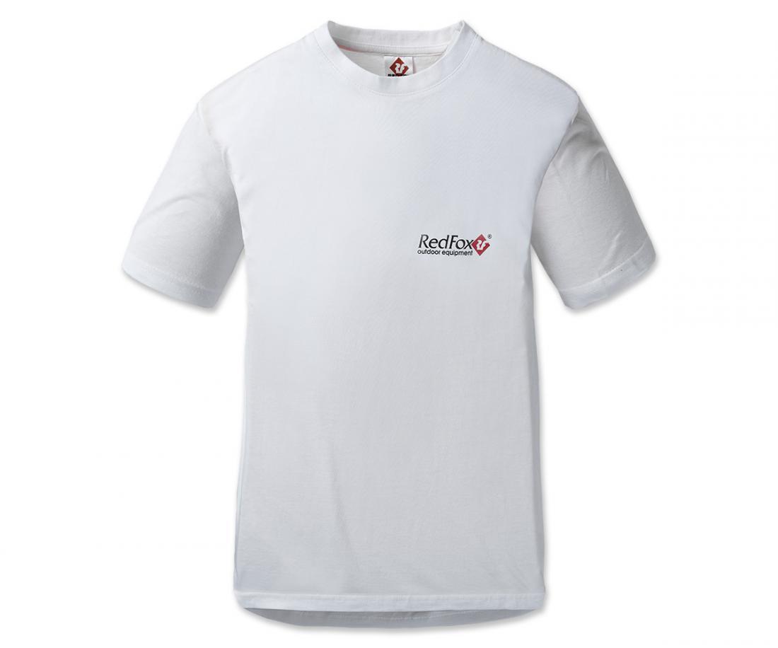 Футболка Quest МужскаяФутболки, поло<br>Мужская футболка облегающего покроя с коротким рукавом и круглым воротом, с логотипом Red Fox на груди.Серия: POPМатериал: 100% CottonРазмерный ряд: S,M,L,XL<br><br>Цвет: Белый<br>Размер: L