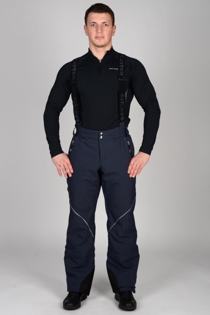 Брюки утепленные 232124Брюки, штаны<br>Горнолыжные брюки для настоящих фанатов зимнего спорта: современные материалы и продуманный крой изделия обеспечивают длительный комфорт при катании и занятиях активными видами спорта на природе. <br> <br> Особенности:<br> <br><br>&lt;li...<br><br>Цвет: Темно-серый<br>Размер: 48