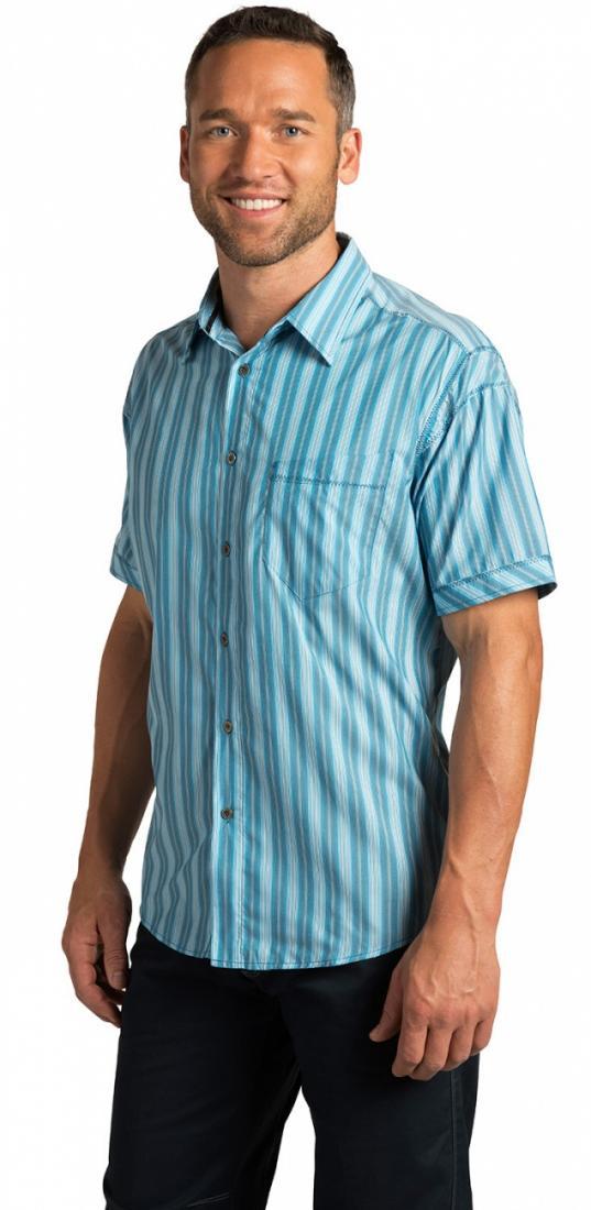 Рубашка Spike муж.Рубашки<br><br><br><br> Мужская рубашка Kuhl Spike с коротким рукавом – идеальное решение для летнего отдыха. Легкая, мягкая, она хорошо сидит по фигуре. <br><br><br> <br><br><br>Ткань Eluxur Lit...<br><br>Цвет: Голубой<br>Размер: S