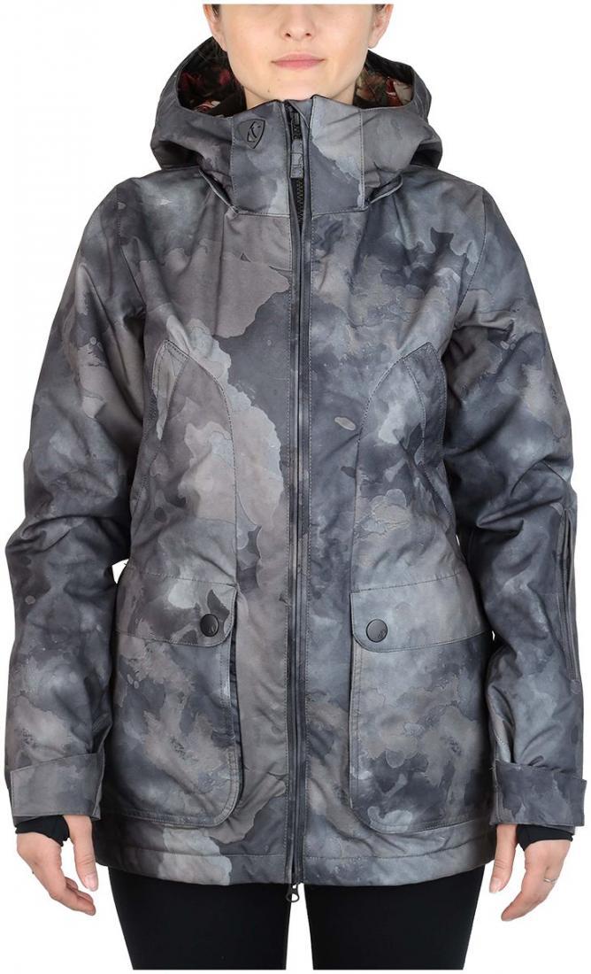Куртка утепленная Blink W женскаяКуртки<br><br> Эта утепленная приталенная куртка создана преимущественно для горнолыжниц. Но сноубордистки, предпочитающие посадку по фигуре, также ...<br><br>Цвет: Черный<br>Размер: 46