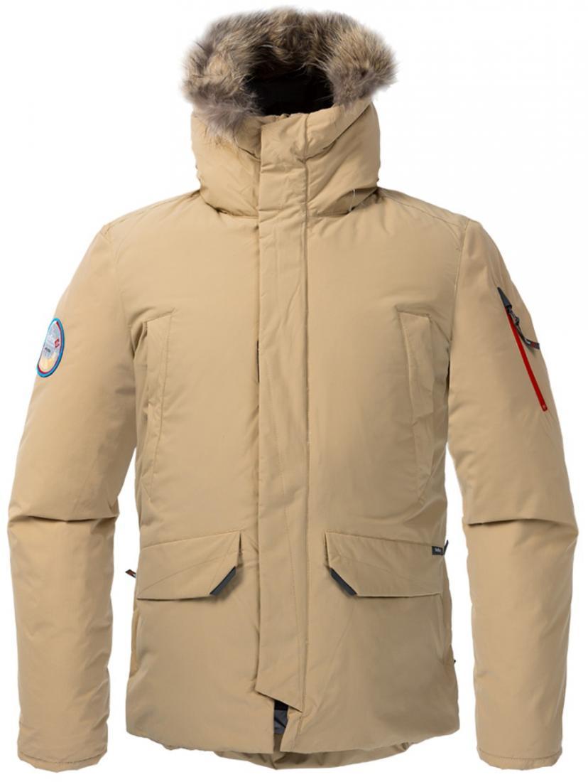 Куртка пуховая ForesterКуртки<br><br> Пуховая куртка, рассчитанная на использование вусловиях очень низких температур. Обладает всемихарактеристиками, необходимыми для ...<br><br>Цвет: Бежевый<br>Размер: 56