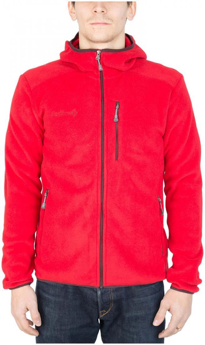 Куртка Kandik МужскаяКуртки<br>Легкая и универсальная куртка, выполненная из материала Polartec 100. Анатомический крой обеспечивает точную посадку по фигуре. Может быть использована в качестве основного либо дополнительного утепляющего слоя.<br><br>основное назначение: пох...<br><br>Цвет: Темно-красный<br>Размер: 56