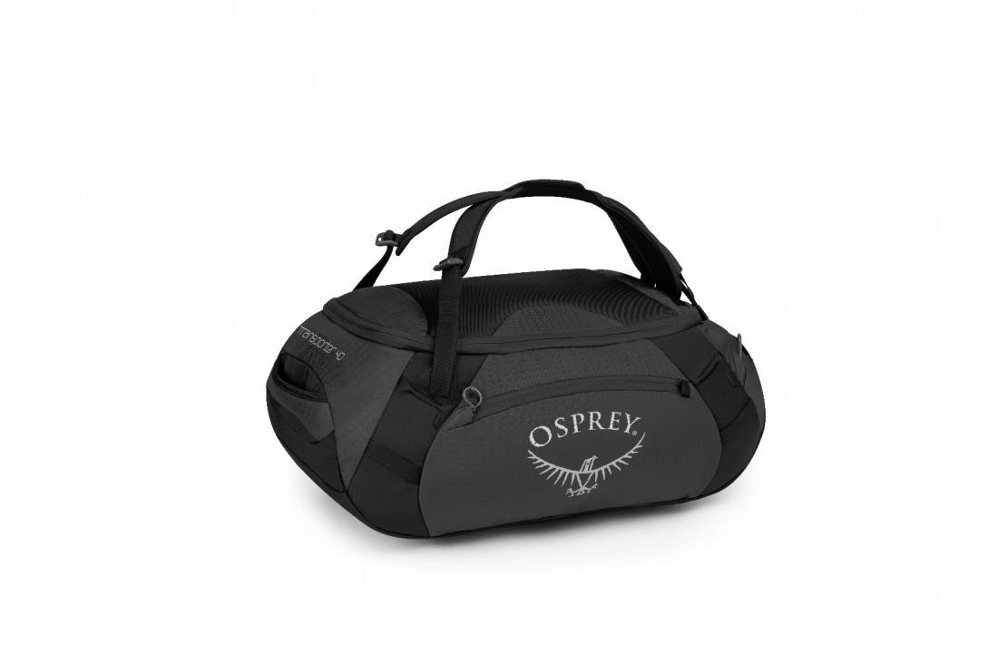 Сумка Transporter 40Сумки<br>Соответствуя стандартам ЕС по максимально возможному размеру ручной клади, легкая сумка Transporter 40, превращающаяся в рюкзак, – идеальный компаньон для путешествий. Две ручки быстро и удобно трансформируются в лямки, позволяя переносить более тяжелы...<br><br>Цвет: Черный<br>Размер: 40 л