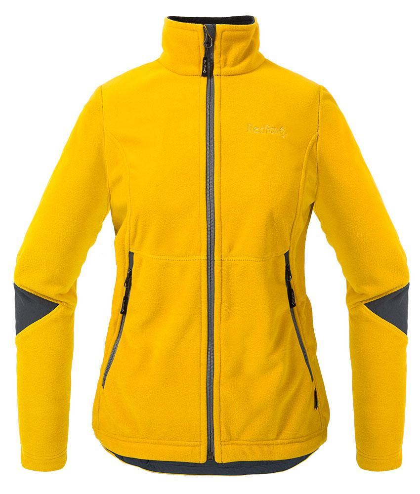 Куртка Defender III ЖенскаяКуртки<br><br> Стильная и надежна куртка для защиты от холода и ветра при занятиях спортом, активном отдыхе и любых видах путешествий. Обеспечивает свободу движений, тепло и комфорт, может использоваться в качестве наружного слоя в холодную и ветреную погоду.<br>&lt;/...<br><br>Цвет: Желтый<br>Размер: 42