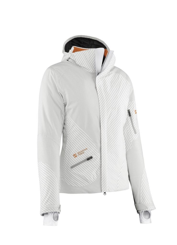 Куртка Delight II Jacket жен.г/лКуртки<br><br> Женская куртка Delight II Jacket – не просто модная, но и функциональная одежда для горнолыжного спорта. Она согревает в мороз, обеспечивает св...<br><br>Цвет: Белый<br>Размер: 44