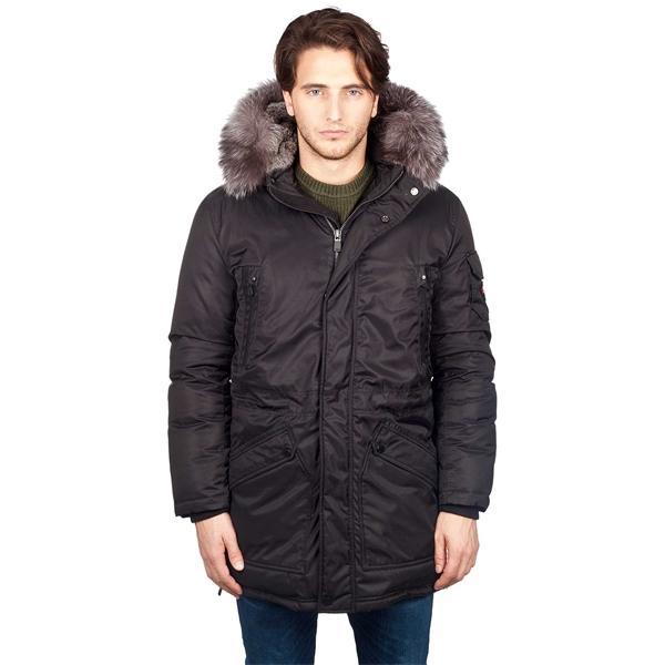 Купить Куртка пуховая мужская WELLS (XL, Jet Black, , ,), PAJAR