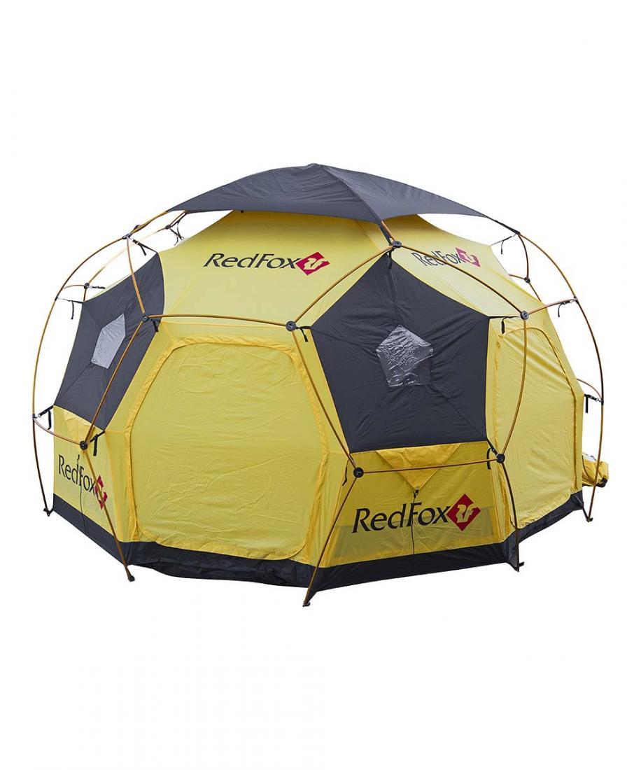 Палатка Base FoxКемпинговые, для базового лагеря<br><br> Очень вместительная палатка для базового лагеря. Модель идеально подходит для использования в качестве портативного офиса, столовой или радиорубки. Прочная, ветроустойчивая, удобная в установке благодаря высокотехнологичной конструкции каркаса DAC...<br><br>Цвет: Желтый<br>Размер: None