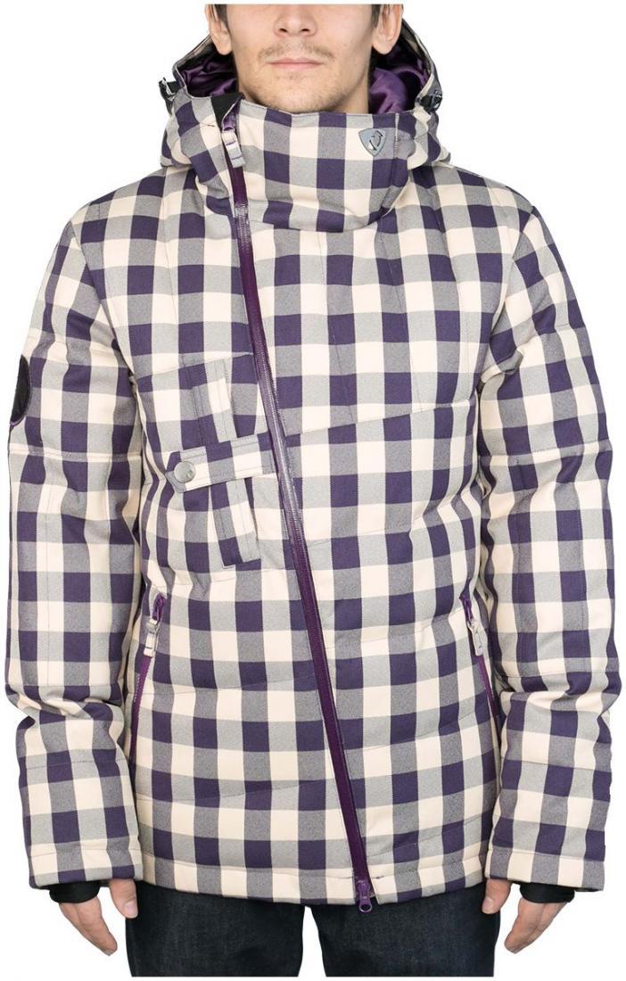 Куртка пуховая DischargeКуртки<br><br><br>Цвет: Синий<br>Размер: 56