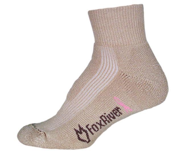 FoxRiver Носки атлетические женские 1579 Wick Dry Qtr Walker Хаки foxriver носки атлет 1191 2 wick dry athletic qtr m 01000