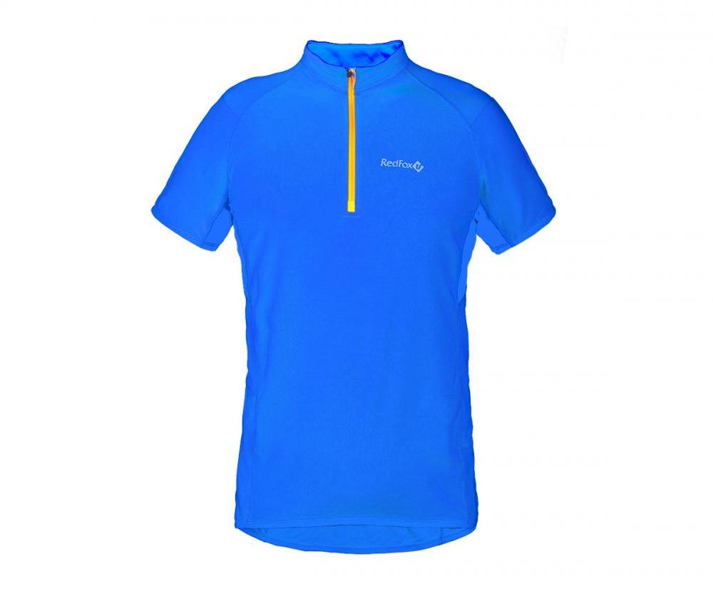 Футболка Trail T SS МужскаяФутболки, поло<br><br> Легкая и функциональная футболка с коротким рукавом из материала с высокими влагоотводящими показателями. Может использоваться в качестве базового слоя в холодную погоду или верхнего слоя во время активных занятий спортом.<br><br><br>основно...<br><br>Цвет: Синий<br>Размер: 46