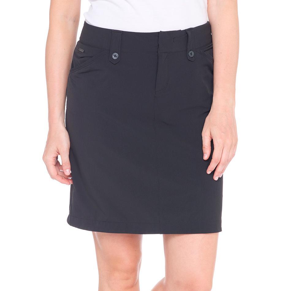 Юбка LSW1301 MILAN SKIRTЮбки<br><br> Элегантная юбка LSW1301 Lole Milan Skirt это невероятно удобный вариант для прогулок и путешествий. Благодаря классическому лаконичному дизайну она отлично сочетается с разными блузками и кофтам...<br><br>Цвет: Черный<br>Размер: 4