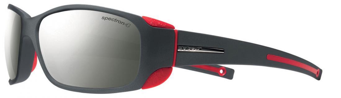 Очки Julbo  Montebianco 415Очки<br>Стиль MonteBianco – это кривые линии создающие обтекаемую форму очков, которые идеально сидят на лице! При необходимости можно убрать боковые шторки. <br><br> <br><br><br>Данные очки идут с разными линзами, так что если вам подходит их дизайн, ...<br><br>Цвет: Красный<br>Размер: None