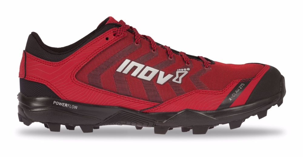 Inov-8 Кроссовки X-Claw 275 (S) муж. (11.5, Black/Blue/Red, , ,) inov 8 куртка race elite 275 softshell s black red