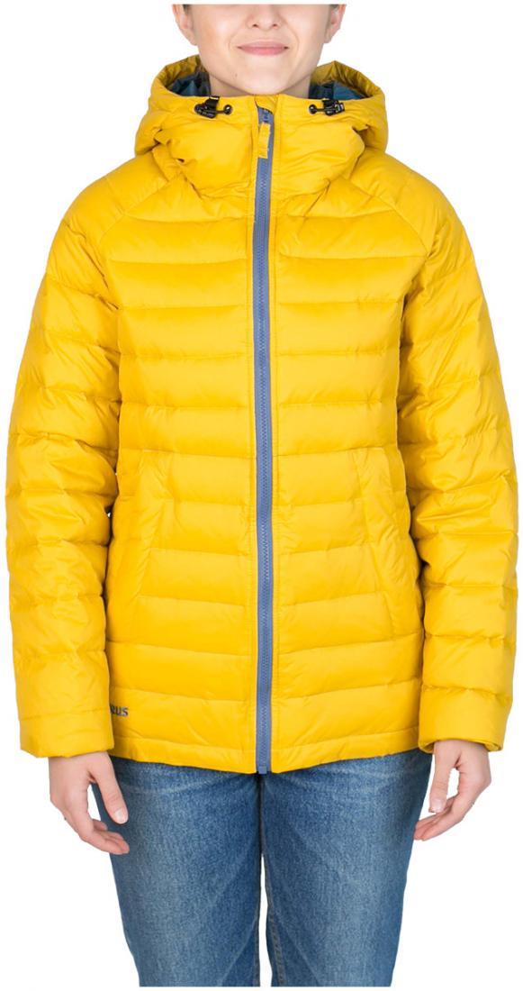 Куртка пуховая Chord WКуртки<br><br>Пуховая кенгуру? Почему бы и нет! легкий. Выполнен из тонкой ткани с водоотталкивающей обработкой DWR. Куртка отлично сидит по фигуре.<br><br>...<br><br>Цвет: Желтый<br>Размер: 50
