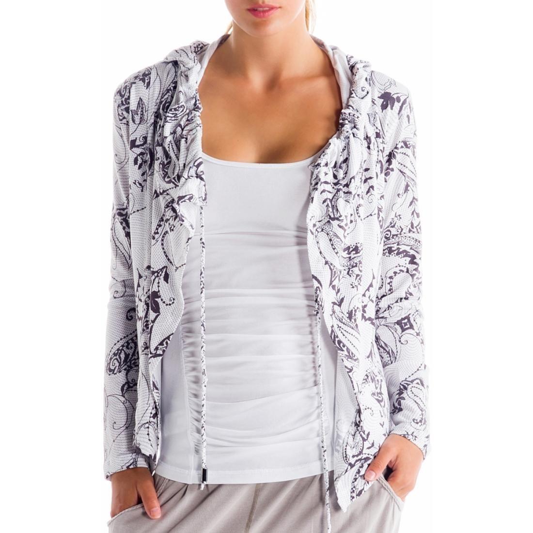 Кардиган LSW0896 VITAL CARDIGANТолстовки<br><br> Легкий женский кардиган Lole Vital LSW0896, выполненный из мягкой и эластичной ткани, – это идеальный вариант для активных и спортивных девушек. Он отлично подойдет для тренировок в прохладную погоду.<br><br> Благодаря свободной посадке и тянущемус...<br><br>Цвет: Белый<br>Размер: XS