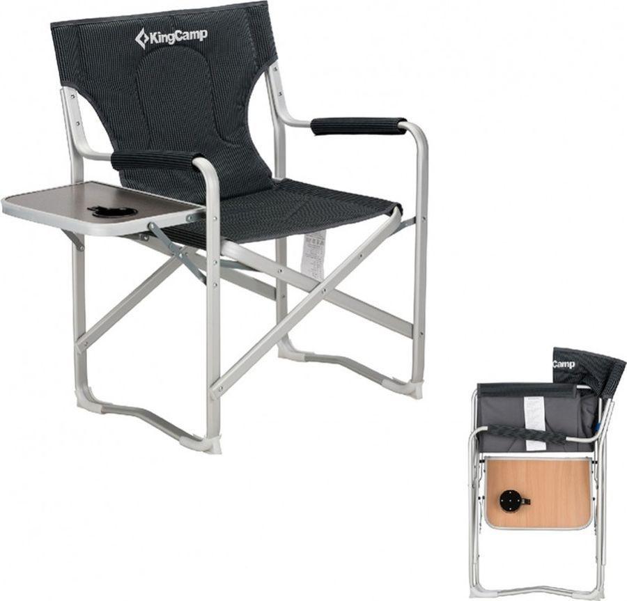 *Кресло 3821 скл.сталь DELUX DIRECTOR CHAIR от King Camp