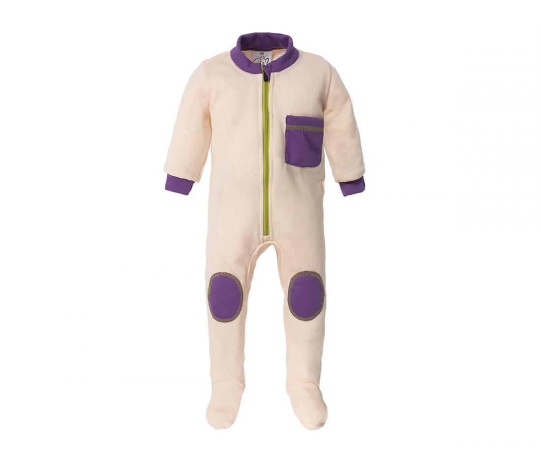 Термобелье комбинезон Little Wool II ДетскийКомбинезоны<br>Теплый комбинезон из мериносовой шерсти прекрасно согревает во время прогулок в холодную погоду. Его можно использовать в качестве базово...<br><br>Цвет: Белый<br>Размер: 68