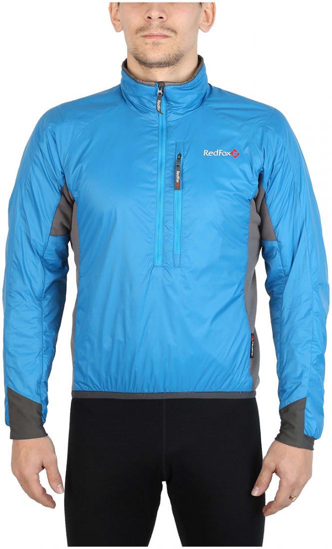 Пуловер утепленный Alpha ZipПуловеры<br><br><br>Цвет: Синий<br>Размер: 48