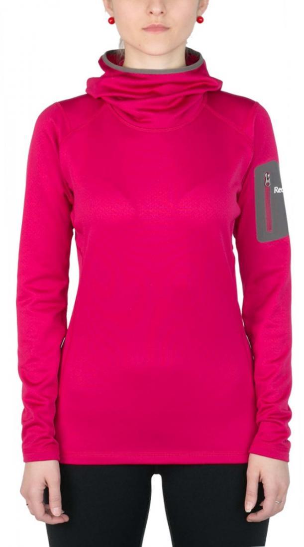Пуловер Z-Dry Hoody ЖенскийПуловеры<br><br> Спортивный пуловер, выполненный из эластичногоматериала с высокими влагоотводящими характеристиками. Идеален в качестве зимнего термобелья илисреднего утепляющего слоя.<br><br><br>основное назначение: альпинизм, горный туризм.<br>м...<br><br>Цвет: Розовый<br>Размер: 46