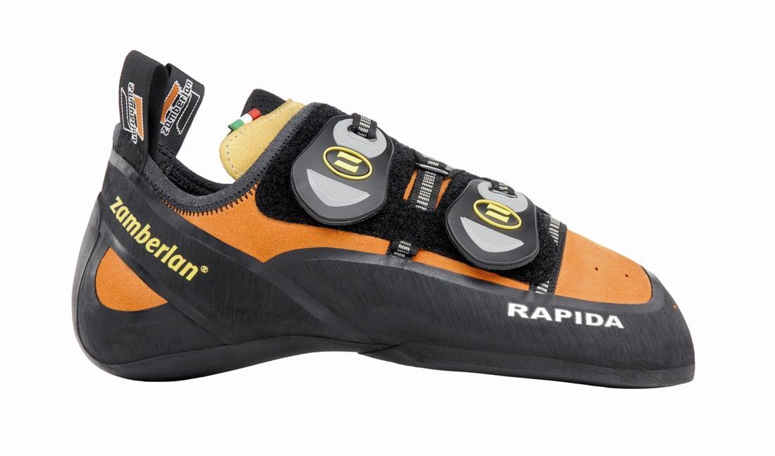 Скальные туфли A80-RAPIDA IIСкальные туфли<br><br> Эти туфли сочетают в себе отличную колодку и прекрасное сцепление. Подвижная застежка Velcro обеспечивает удобную фиксацию. Увеличенная шнуровка для точной посадки. Максимальная чувствительность носка для экстремального сцепления. Подошва Vibram® M...<br><br>Цвет: Оранжевый<br>Размер: 38