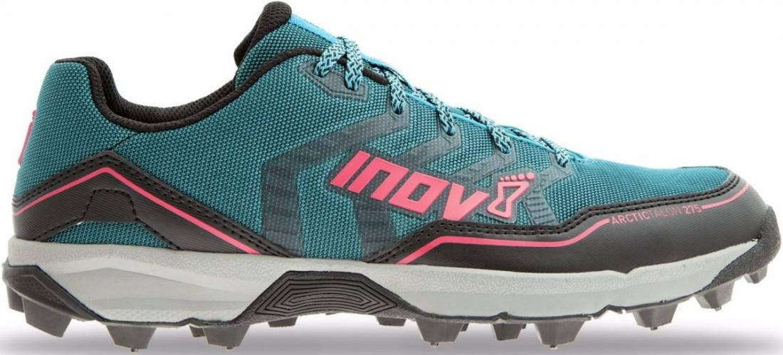 Inov-8 Кроссовки Arctic Talon 275 жен. (4.5, Teal/Black/Pink, , ,) inov 8 футболка at c tri blend ss strip w 6 black pink