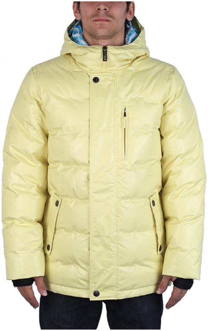 Куртка пуховая GrizzlyКуртки<br><br> Практичный городской вариант для ожидания весны. Пуховик Grizzly выделяется среди себе подобных усовершенствованной системой магнитных застежек, которые делают доступ к карману простым, даже если руки в перчатках. В остальном это такая же удобная и...<br><br>Цвет: Оттенок желтого<br>Размер: 48