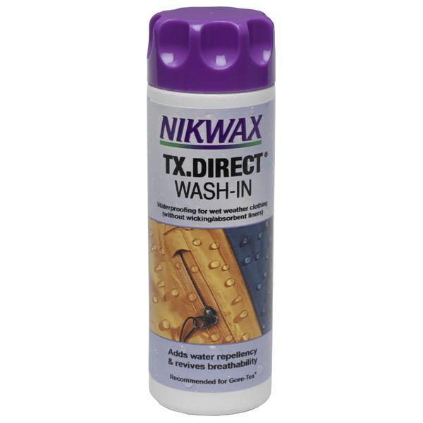 Пропитка для мембранных тканей TX Direct Wash-inПропитки, стирки<br>Для придания водоотталкивающих свойств одежде из Gore-tex®, Sympatex® и дышащих нейлоновых материалов используйте Nikwax® TX.Direct® Wash-in или Nikwax® TX.Direct...<br><br>Цвет: Бесцветный<br>Размер: 1 л