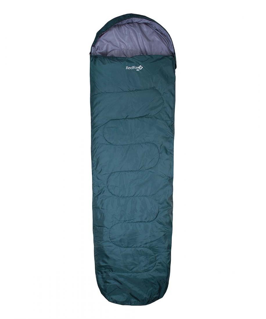 Спальный мешок F&amp;T leftСпальные мешки<br>Спальный мешок имеет удобный подголовник, который при необходимости можно затянуть в форме капюшона для большего сохранения тепла.<br>...<br><br>Цвет: Зеленый<br>Размер: Regular