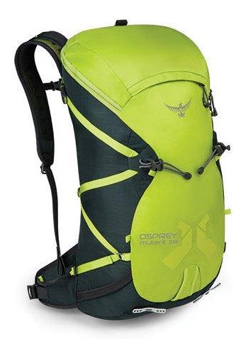 Рюкзак Mutant 28Рюкзаки<br>Всесезонный рюкзак, специально сконструированный для восхождений. Очень легкий, гибкий, универсальный и минималистичный при необходимости, он станет вашим постоянным и верным спутником. Специальное покрытие на задней панели, способствующее соскальзыван...<br><br>Цвет: Салатовый<br>Размер: 30 л