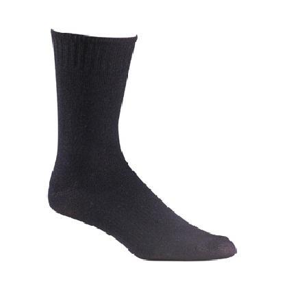Носки армейские 6041-2 DRESS LINERНоски<br><br>Уникальная система Wick Dry® Health System позволяет сохранять ноги сухими и здоровыми<br>Высокоэффективный нейлон X-Static® с серебряным покрытием предотвращает появление неприятного запаха<br>Благодаря полипропилену высокого к...<br><br>Цвет: Черный<br>Размер: L