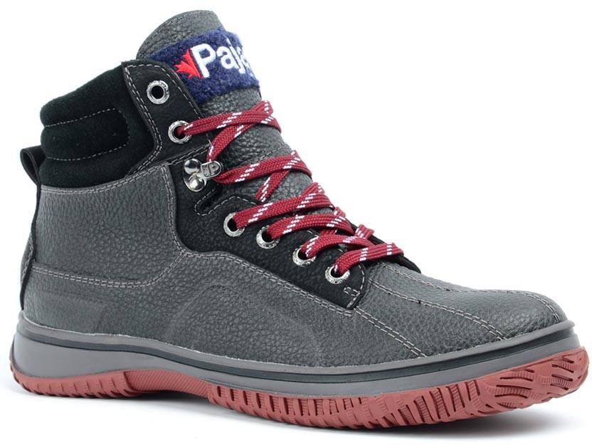 Ботинки мужские GERARDOБотинки<br>Стильные и функциональные мужские ботинки с нескользящей подошвой подойдут для любого вида активности. Обеспечивают тепло и комфорт при низких температурах.<br><br>Серия: нескользящие<br>Верх: кожа / синтетический материал / замша<br>...<br><br>Цвет: Черный<br>Размер: 45