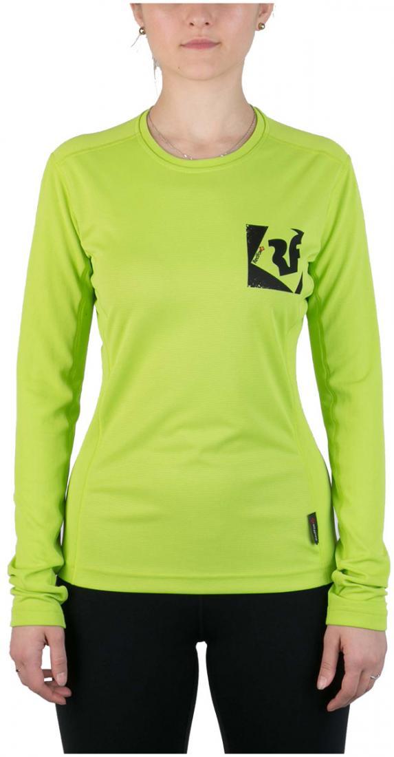 Футболка Trek T LS ЖенскаяФутболки, поло<br><br> Легкая и функциональная футболка, выполненная извлагоотводящего и быстросохнущего материала.<br><br><br> Основные характеристики:<br><br>&lt;ul...<br><br>Цвет: Салатовый<br>Размер: 42