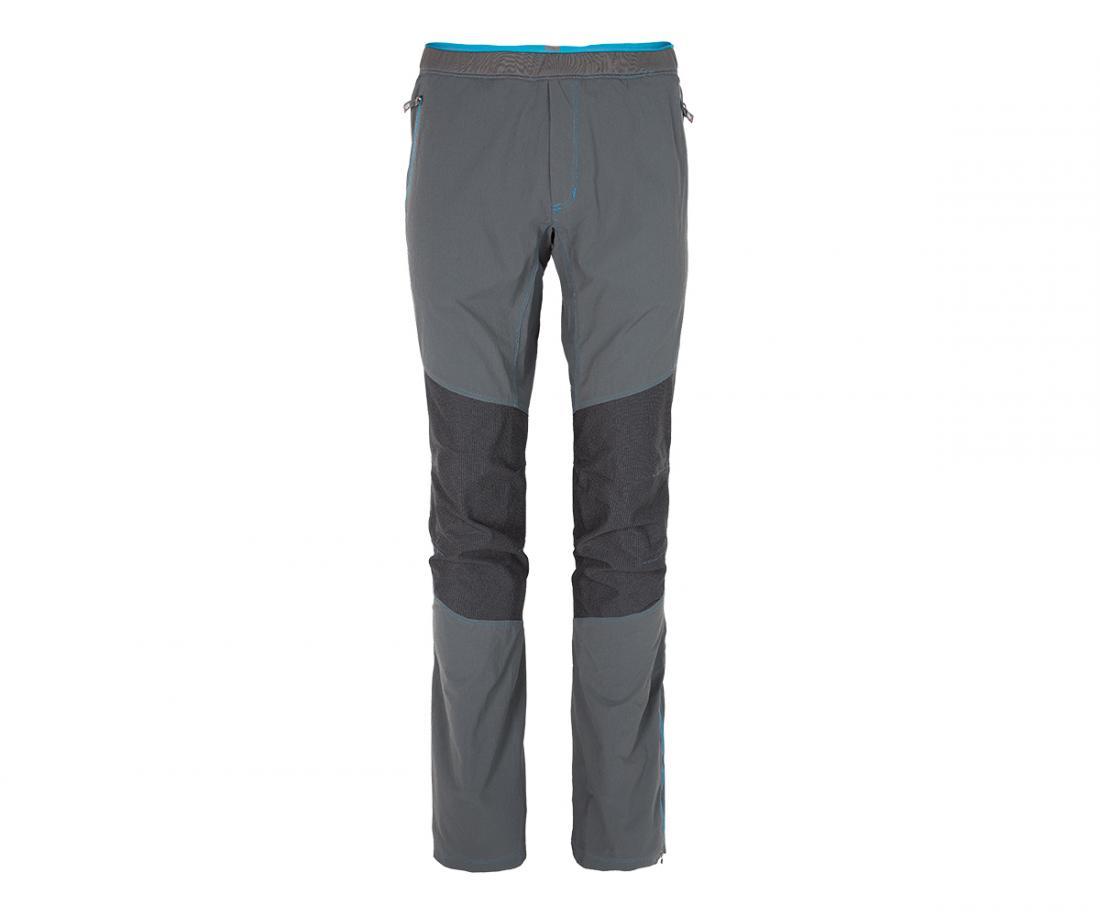 Брюки Motions Climbing МужскиеБрюки, штаны<br><br> Технологичные и функциональные брюки: комбинациявысокой прочности и эластичности с эргономичнымсилуэтом позволяет ощутить исключительную свободудвижения.<br><br> Основные характеристики: <br><br>использование трех видов эластичной ткани...<br><br>Цвет: Темно-серый<br>Размер: 56