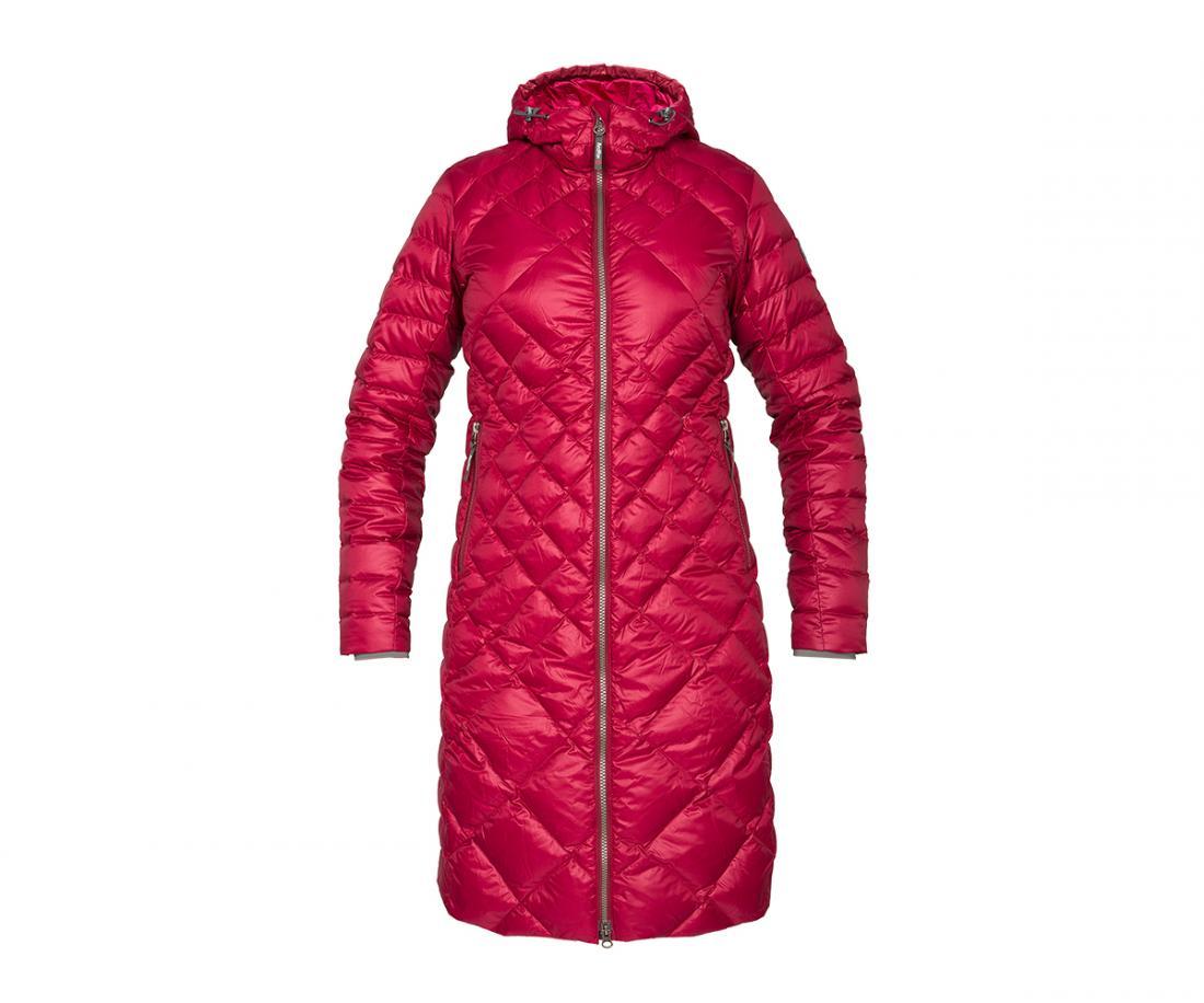Пальто пуховое Nicole ЖенскоеПальто<br><br> Легкое пуховое пальто с элементами спортивного дизайна. соотношение малого веса и высоких тепловыхсвойств позволяет двигаться актив...<br><br>Цвет: Красный<br>Размер: 52
